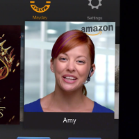 kindle fire girl